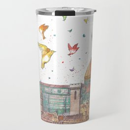 Colors Of Florence Travel Mug