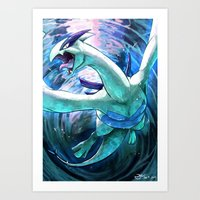 Lord of the seas Art Print