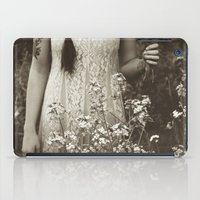 child iPad Cases featuring Flower Child by Olivia Joy StClaire