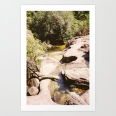 Ubon Ratchathani Thailand - Waterfalls II Art Print