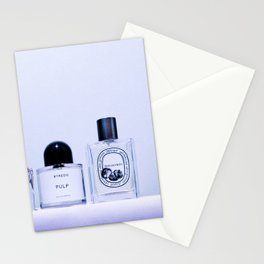 the scent ver.cool purple Stationery Cards