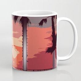Evening Sunset Along The Walk Coffee Mug