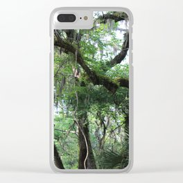 Hiking in Florida Clear iPhone Case
