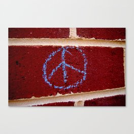 Pax on the Wall Canvas Print