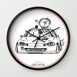 Crazy Car Art 0202 Wall Clock