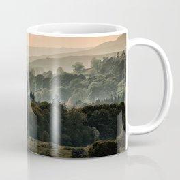 Foggy morning in Lake District Coffee Mug