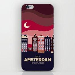 Vintage Travel: Amsterdam iPhone Skin