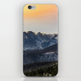 Sunset on the Rock(ies) iPhone Skin
