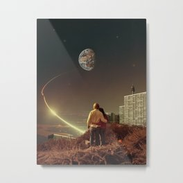 We Used To Live There, Too Metal Print