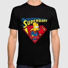 Superbart: the Simpsons superheroes (Bart Simpson meets Superman) T-shirt