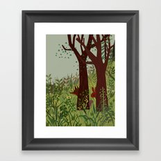 In Hiding Framed Art Print