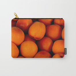 Beautiful peach fruit pattern Carry-All Pouch
