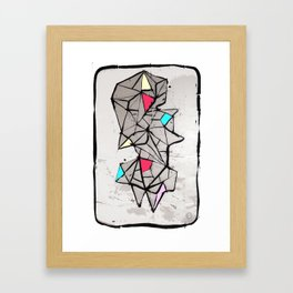 Diamante Framed Art Print