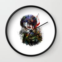 snk Wall Clocks featuring strongest by ururuty