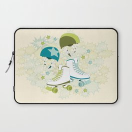 Roller Derby Rumble Laptop Sleeve