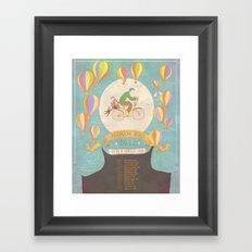 Andrew Bird 'Break It Yourself' commemorative poster Framed Art Print