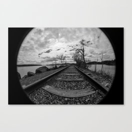 Fisheye Canvas Print