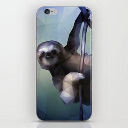 Sloth (Low Poly Cool) iPhone Skin