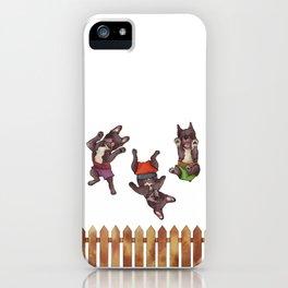 Mojo, Ocho, Herman iPhone Case