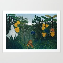 The Repast of the Lion Art Print