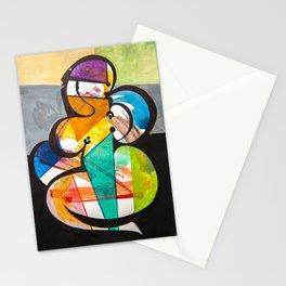 LA MODELO Y SU SOMBRA Stationery Cards