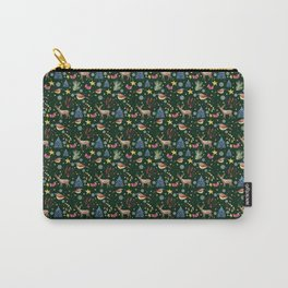 Christmas Green Carry-All Pouch