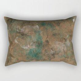 Patina Copper Rectangular Pillow