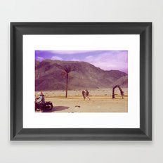 Back to nature with my cart...wait - there is no fuel?/Or: The Death of Land Framed Art Print