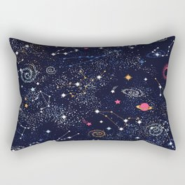 Space Galaxy Rectangular Pillow