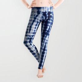 Shibori Tie Dye Pattern Leggings