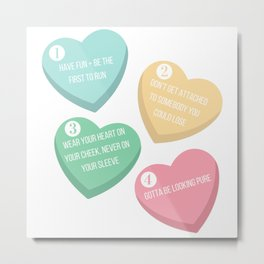 How to be a Heartbreaker Metal Print
