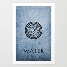 Avatar Last Airbender - Water Art Print