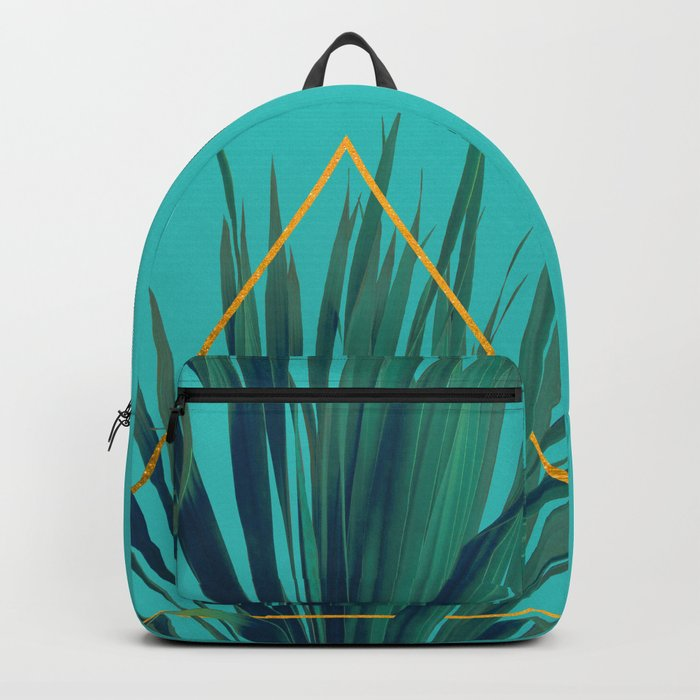 Geometric Fountain Backpack