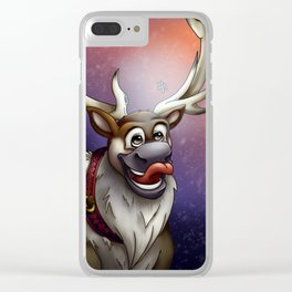 A Taste of Winter Clear iPhone Case