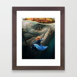 Shallan and the Santhid Framed Art Print