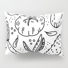 Delicious vegetables in all its glory Pillow Sham