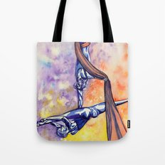 Fly with a little help from my friends Tote Bag