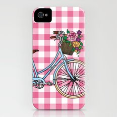 Her Bicycle iPhone (4, 4s) Slim Case