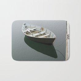 Green Rowboat Bath Mat