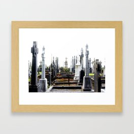 The Final Answer Is.... Framed Art Print