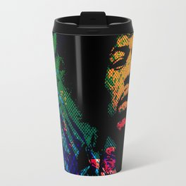 Hendrix - Not necessarily stoned but beautiful Travel Mug