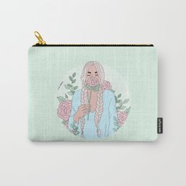 Stop And Smell The Roses Carry-All Pouch