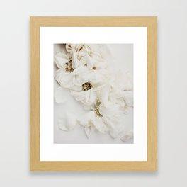 MOMENTO MORI ROSES Framed Art Print