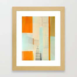 The In-Betweens Framed Art Print