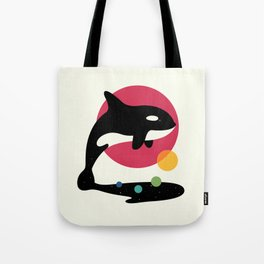 Jump Over Tote Bag