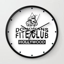 Donovans Fite Club Wall Clock