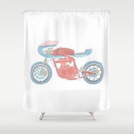 re-tj Shower Curtain