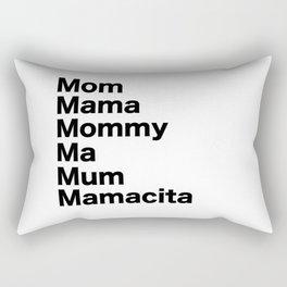 Mom Mama Mommy Rectangular Pillow