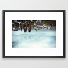 Edinburgh inverted Framed Art Print