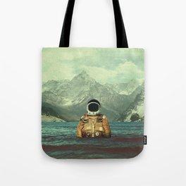 Glacier Spaceman Tote Bag